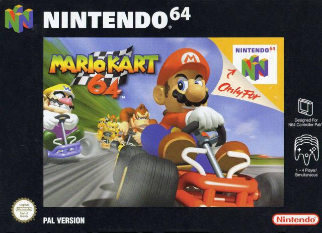 It's-a Me, Mario Kart 64!