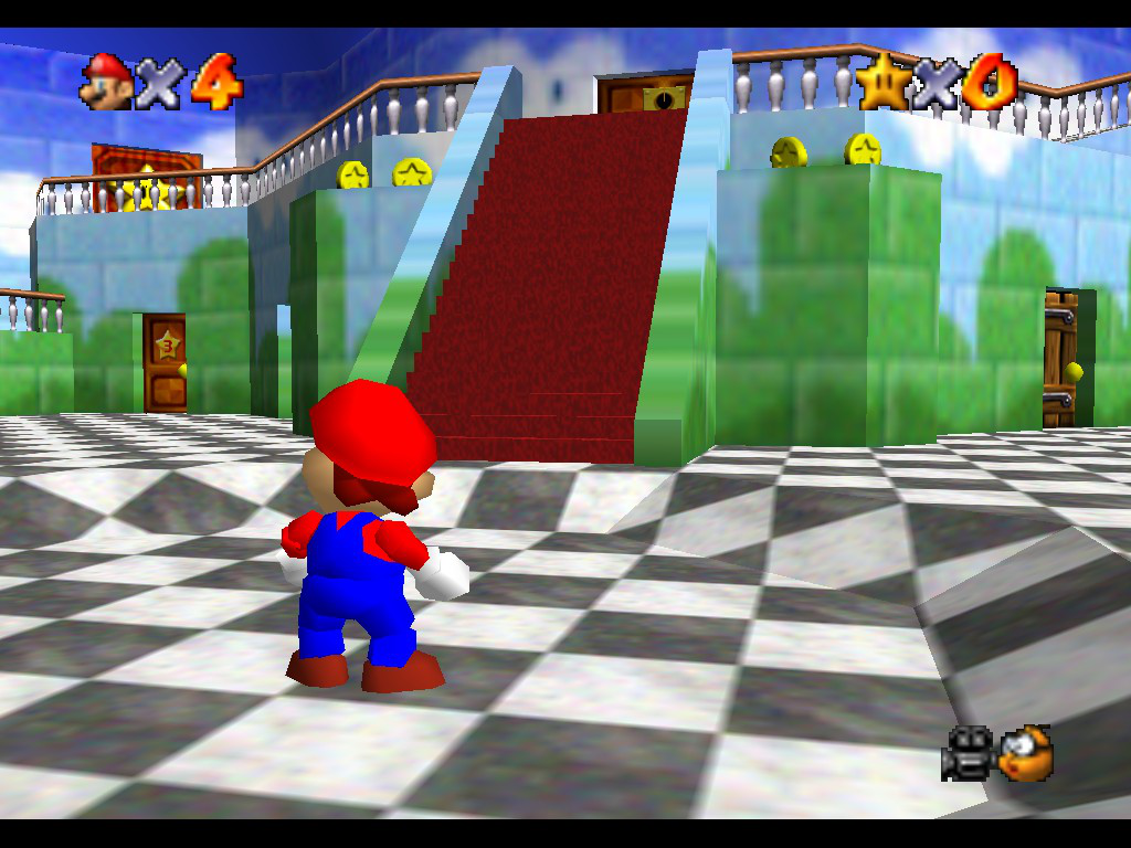 Super Mario 64 Schloss