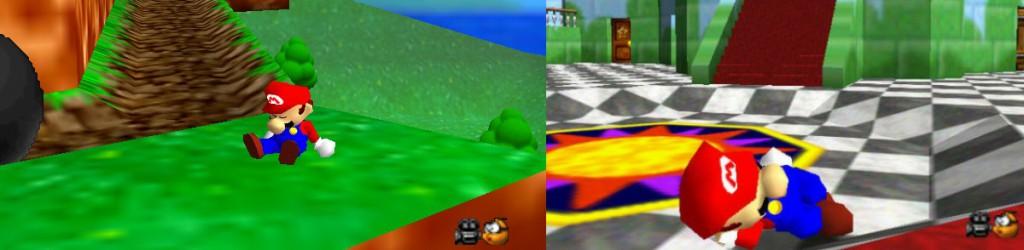 Super Mario 64 Mario schlafen