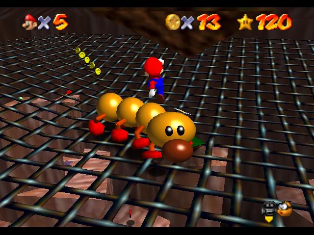 Super Mario 64 Wiggler