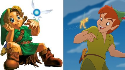 The Legend of Zelda Ocarina of Time Peter Pan