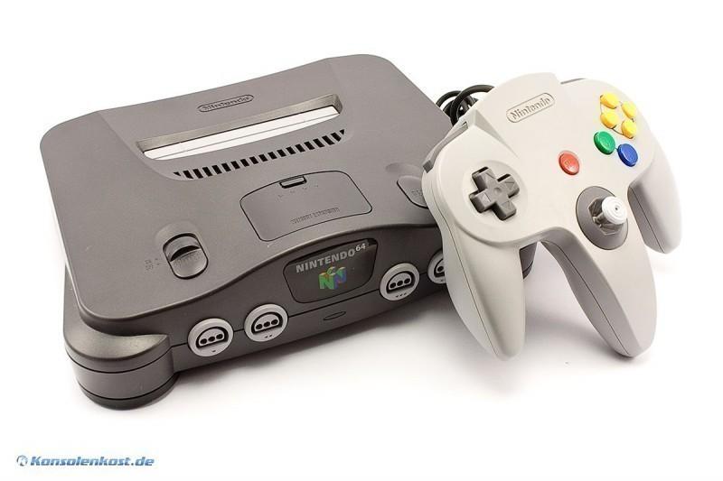 N64-Spiele Konsole
