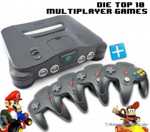N64-Spiele Multiplayer