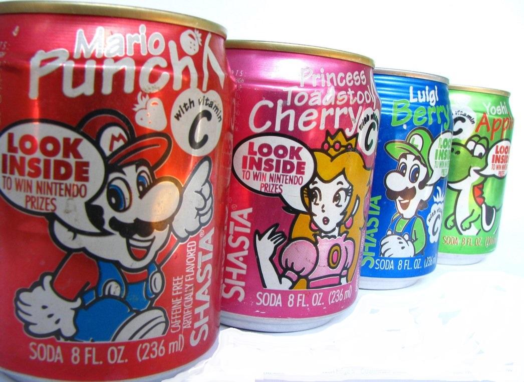 Nintendo Soda