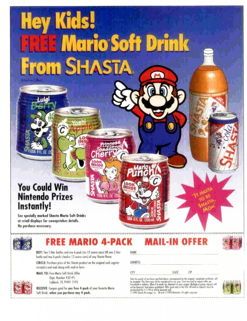 Nintendo Super Mario Werbung