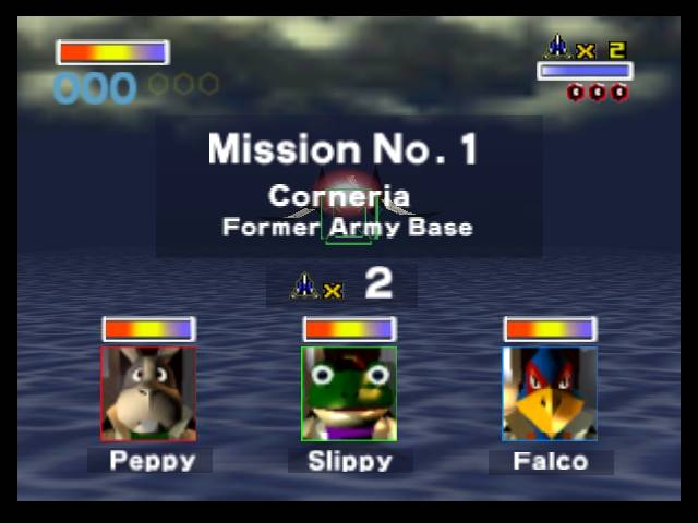 Lylat Wars Peppy Slippy Falco
