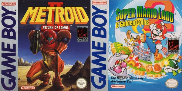 Nintendo Metroid 2 Super Mario Land