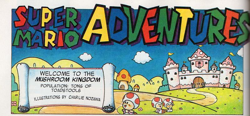 Super Mario Comic Fronts