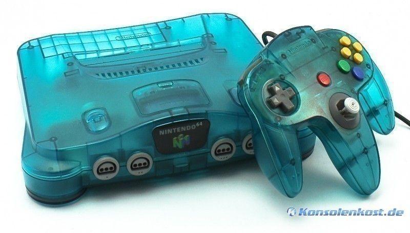 N64-Konsole-Clear-Blue bei Konsolenkost kaufen